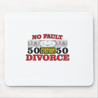 no-fault divorce 50 50 equality mouse pad