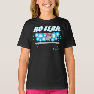 No Fear Gymnastics Cat T-shirt by Cheeky Chats