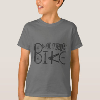 """""""No Fear"""" Quote & Graffiti from Bike Parts T-Shirt"""