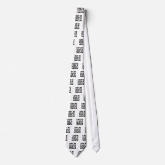 No Feelings or Emotions Tie