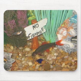 No Fishing Mouse Pad