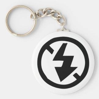 No Flash Photography Key Ring