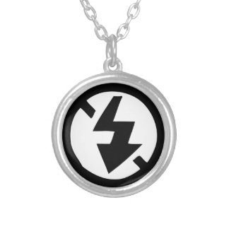 No Flash Photography Silver Plated Necklace