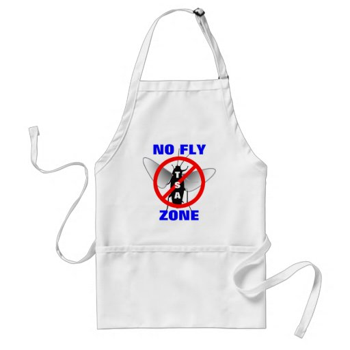 No Fly Zone Aprons