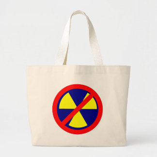 NO forbade nuclear power nuclear power Jumbo Tote Bag