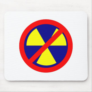 NO forbade nuclear power nuclear power Mouse Pad