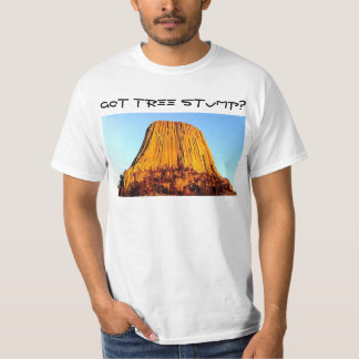 No Forests on Flat Earth Got Tree Stump? Men's Tee