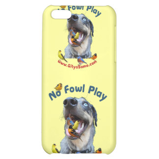 No Fowl Play Bird Dog Case For iPhone 5C