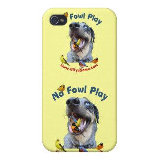 No Fowl Play Bird Dog iPhone 4/4S Case