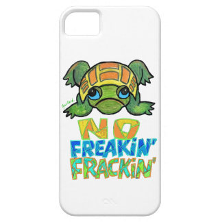 No Fracking Turtle IPhone Case iPhone 5 Cover