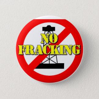 No Fracking UK 2 6 Cm Round Badge