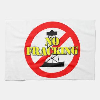No Fracking UK 2 Towels