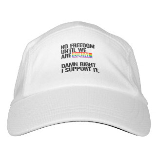 No Freedom Until We are Equal - - LGBTQ Rights - . Hat