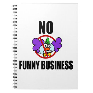 No Funny Business Journals