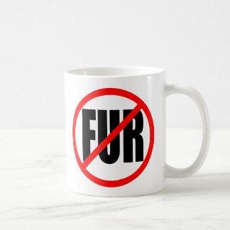 """NO FUR"" COFFEE MUG"