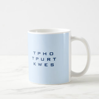 No Further Questions - Slow Down - Speak Up Coffee Mug