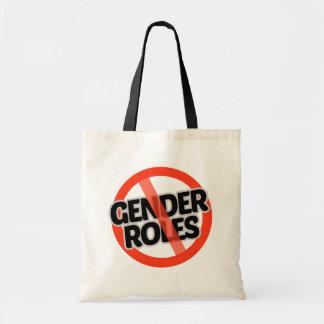No Gender Roles - -  Tote Bag