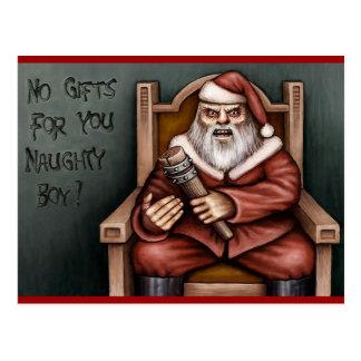 No gift card postcard