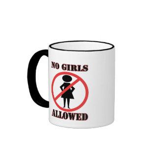 No Girls Allowed Ringer Mug