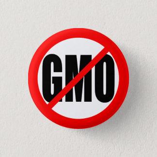 """NO GMO"" 3 CM ROUND BADGE"