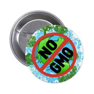 NO GMO 6 CM ROUND BADGE