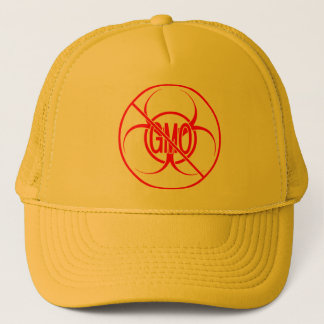 No GMO Caps Bio Hazard No GMO Trucker Hats Caps