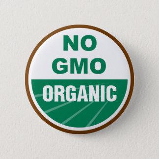 No GMO Organic 6 Cm Round Badge