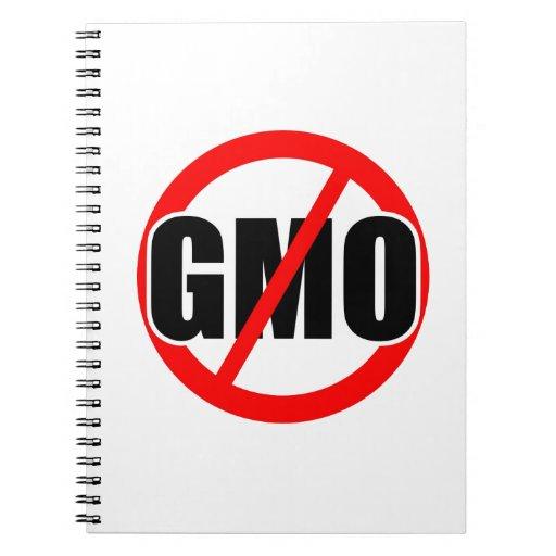 NO GMO - organic/mansanto/activism/protest/farming Notebook