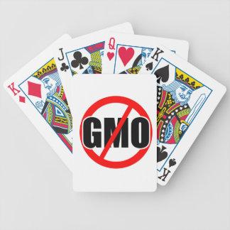 NO GMO - organic/mansanto/activism/protest/farming Bicycle Poker Deck