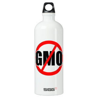 NO GMO - organic/mansanto/activism/protest/farming SIGG Traveller 1.0L Water Bottle