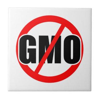 NO GMO - organic/mansanto/activism/protest/farming Ceramic Tile