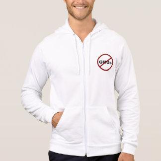 No GMOs Fleece Zip Hoodie