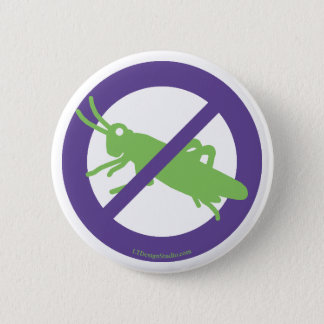 No Grasshoppers - Button