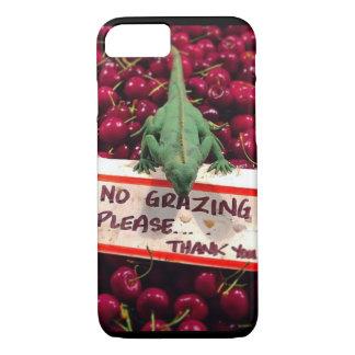 No Grazing, Please iphone case