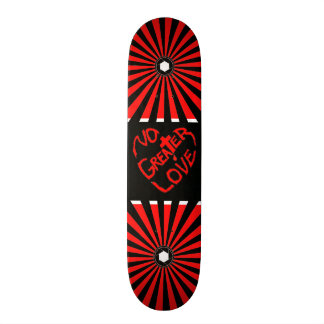 No Greater Love Christian Skateboard