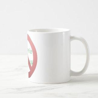 No Greenie Weenies Coffee Mug