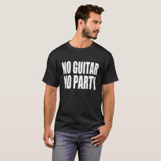 No Guitar No Party T-Shirt