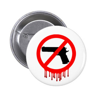 No Guns Allowed = Innocent Dead 6 Cm Round Badge