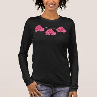 No Gun's Just Roses Long Sleeve T-Shirt