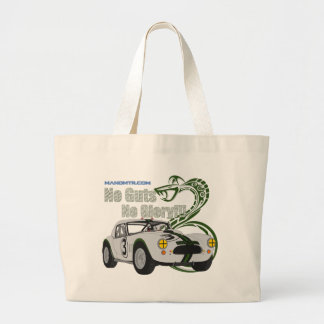 No guts No glory- cobra Large Tote Bag