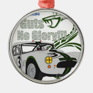 No guts No glory- cobra Metal Ornament