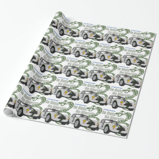 No guts No glory- cobra Wrapping Paper