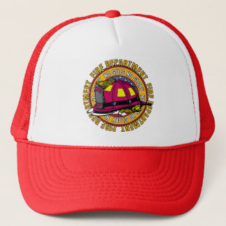No Guts No Glory Fire Fighter Trucker Hat