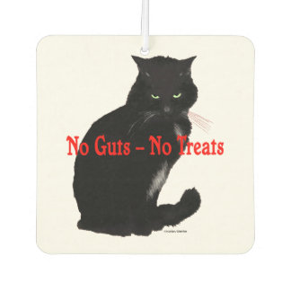 """No Guts, No Treats"" Air Freshener"