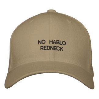 NO HABLO REDNECK BASEBALL CAP