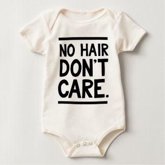 No Hair Don't Care Apparel Baby Bodysuit