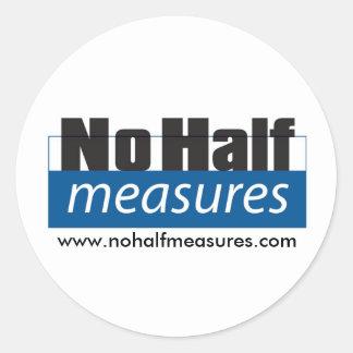 No Half Measures - Sticker