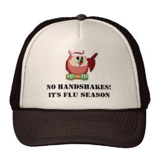No handshakes cap