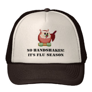 No handshakes trucker hat