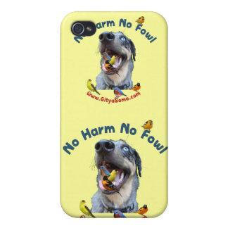 No Harm No Fowl Bird Dog iPhone 4 Cover